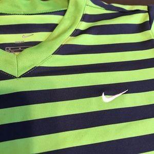 Nike Tops - Nike Dri Fit striped top
